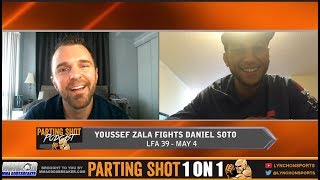 Undefeated Youssef Zalal Aiming for a Contender Series spot with a LFA 39 victory
