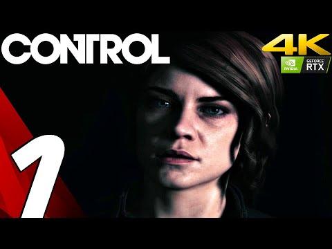 CONTROL - Gameplay Walkthrough Part 1 - Prologue (Full Game) 4K 60FPS RTX