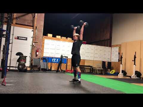 Patrick Vellner is doing SAB Q18 1 -Dumbbell DT