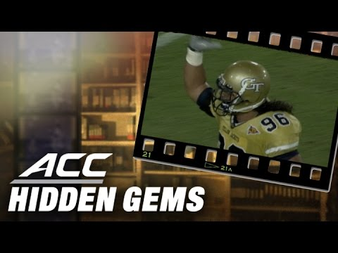 WWE's Roman Reigns College Football Highlights at Georgia Tech