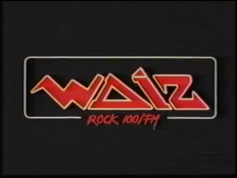 "WDIZ ""Rock-100 FM"" TV Ad - November of 1983"