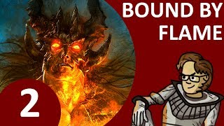 Let's Play Bound By Flame Part 2 - Act 1: Twists and Turns in Valvenor, Meet Rhelmar (PS4 Buffalo)