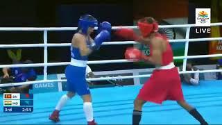 Anusha Kodithuwakku & Mary Com 2018 Commonwealth Games - Semi Final