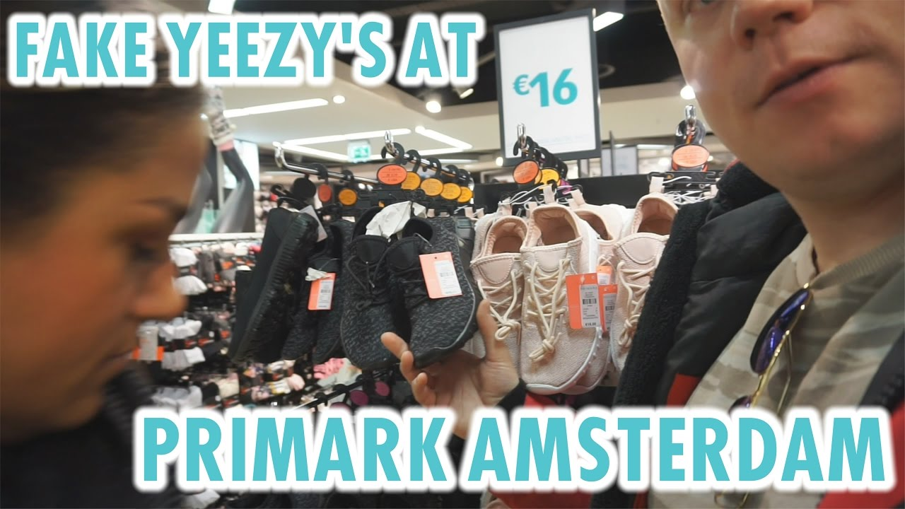 FAKE YEEZY'S AT THE PRIMARK AMSTERDAM