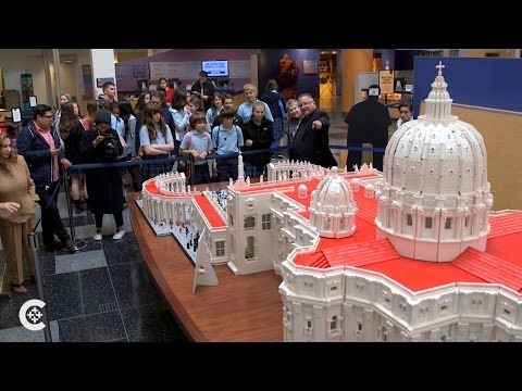 Priest builds ministry Lego by Lego