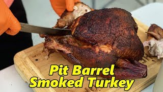 Pit Barrel Smoked Turkey