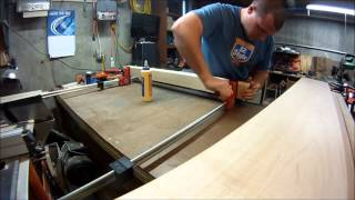 "King Size Platform Bed ""leg Glue"" Video 2"