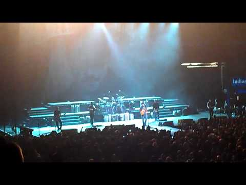 Eric Church @ Hulman Center in Terre Haute, Indiana - 1/28/2012 - Blood, Sweat & Beers Tour