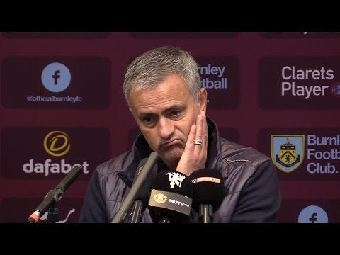 Burnley 0-2 Manchester United - Jose Mourinho Full Post Match Press Conference