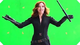 CAPTAIN AMERICA  CIVIL WAR - Gag Reel BLOOPERS + Making-Of !