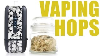 You Can Vape What?! - Vaping Hops in Your Ascent Vaporizer