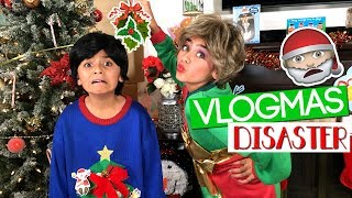 Miss Mom Vlogmas - Christmas Vlogs Disaster - Funny Skits // GEM Sisters
