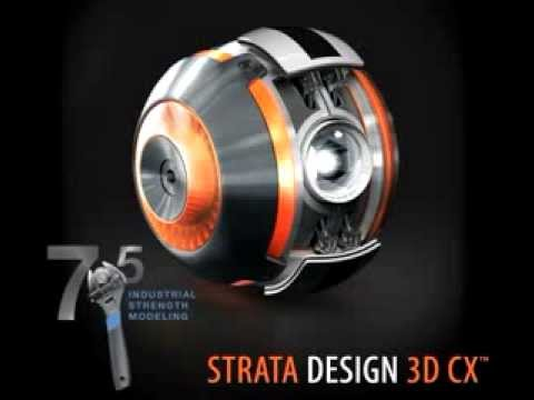 strata releases design 3d cx version 7 5 for mac youtube