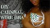 eee95f25d1b8b DIY Designer Rhinestone Exotic Bra!! BLING BLING!!💎 - YouTube