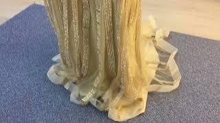 Золотое платье в стиле бейонсе от Окей Дресс. Прокат платьев Краснодар