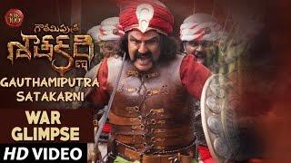 Gautamiputra Satakarni Movie War Glimpse   Balakrishna, Shriya Saran, Krish