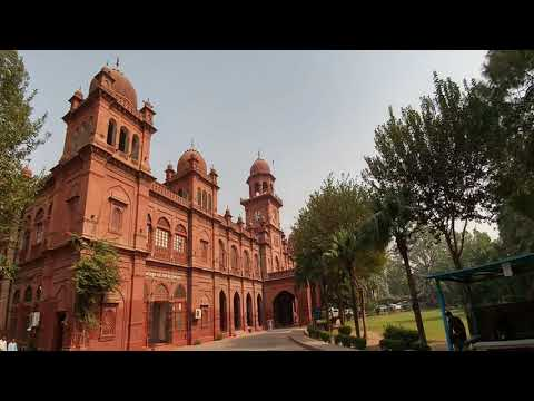 Punjab University Lahore Campus Tour 2018