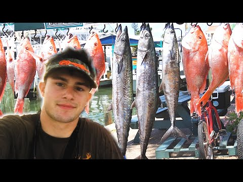 Fishing For Red Snapper And Kingfish! || Red Snapper Season Day 1 || Deckhand Life Ep. 1