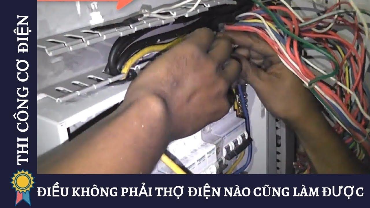 ĐIỀU KHÔNG PHẢI THỢ ĐIỆN NÀO CŨNG LÀM ĐƯỢC - Kỹ Thuật Thi Công Cơ Điện MECHANICAL ENGINEERING #1