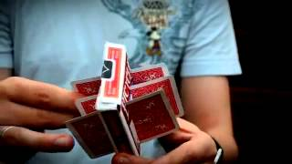 Transfix by Ben Howard - Cards through case - Dude That's Cool Magic
