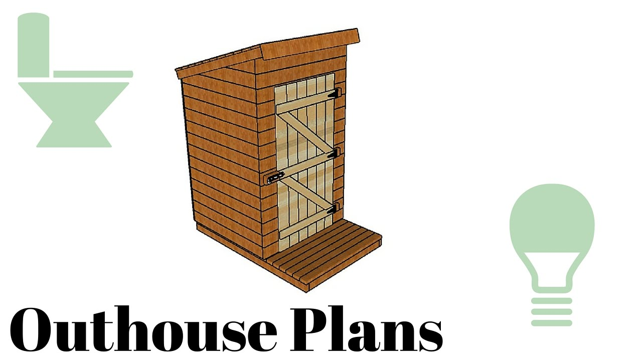 Outhouse plans youtube for Www house plans com