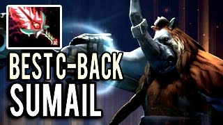 Magnus Best Comeback Ever! Hard Game by SumaiL 7.04 Dota 2