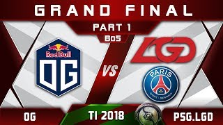 Download Video OG vs PSG.LGD TI8 Grand Final The International 2018 Highlights Dota 2 - [Part 1] MP3 3GP MP4