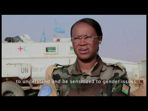 UN Military Gender Advocate of the Year Award 2016 - Major Aichatou Ousmane Issaka