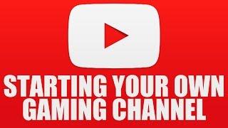 كيفية بدء الألعاب قناة يوتيوب! (للمبتدئين, كل ما تحتاجه)