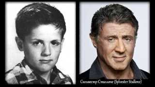 Неудержимые (1-3) - актеры в детстве и сейчас | Сильвестр Сталлоне, Джейсон Стэйтем