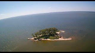 Кто Хозяин Необитаемого острова! Рыбалка в Калининградском заливе, поиск Судака.