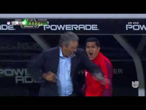 CHIVAS VS LEON 2-1 JORNADA 16 LIGA MX CLAUSURA 2019 GOL DE PULIDO