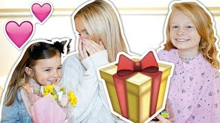 OUR MOTHERS DAY SURPRiSE FOR PREGNANT MUM 🤰