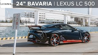 "(2019) Vehicle One LEXUS LC 500: 24"" LEXANI WHEELS"