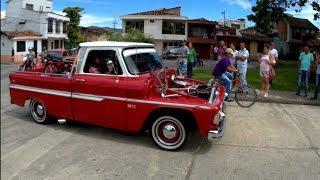 Desfile de autos clásicos - Cartago Valle del Cauca Colombia 2018