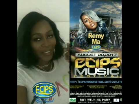 Remyma will be performing live @ecipsmusicfestival on August 20th 2017 @ Roy Wilkins Park new york