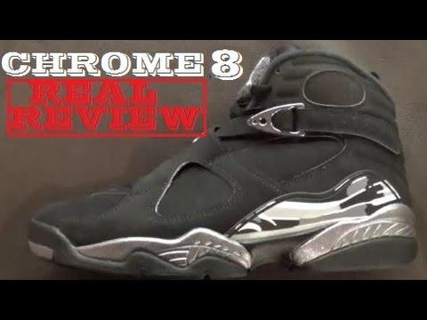 release date: f980a 0cb4e Air Jordan 8 Chrome 2015 Retro Shoe REAL REVIEW