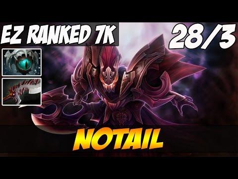 N0tail 7500 MMR Plays Spectre 28 kills...