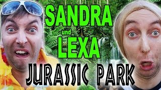 Sandra und Lexa im Jurassic Park!