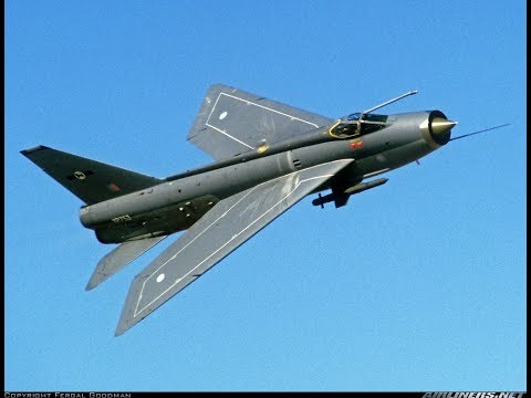 The English Electric Lightning jet