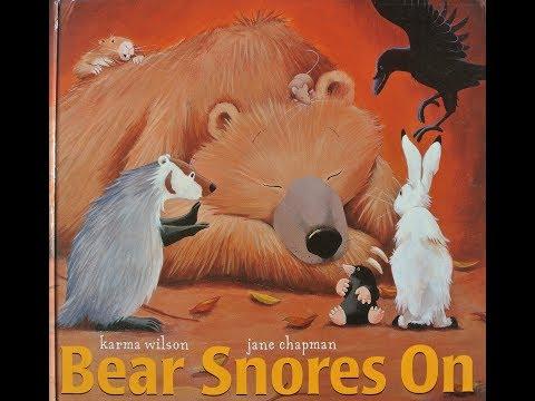 Bear Snores On! - Caldecott Honor Read Aloud w/  Music!