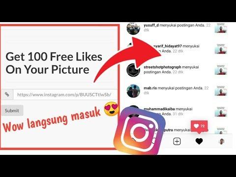 Auto like instagram 2019 Terbaru Real Aktif indo Hanya pake