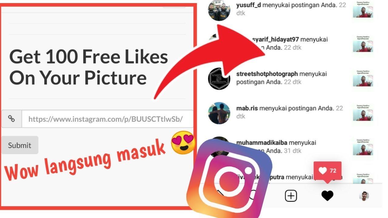 Free like instagram url