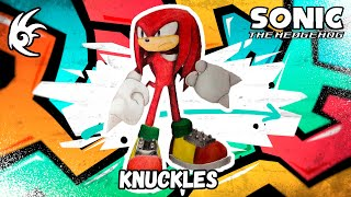 Drawing - Knuckles - Sonic the Hedgehog