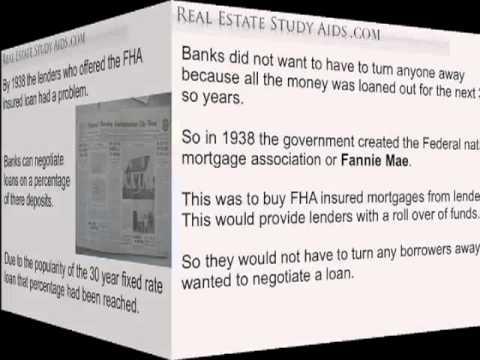 Secondary Market - Real Estate Exam - YouTube