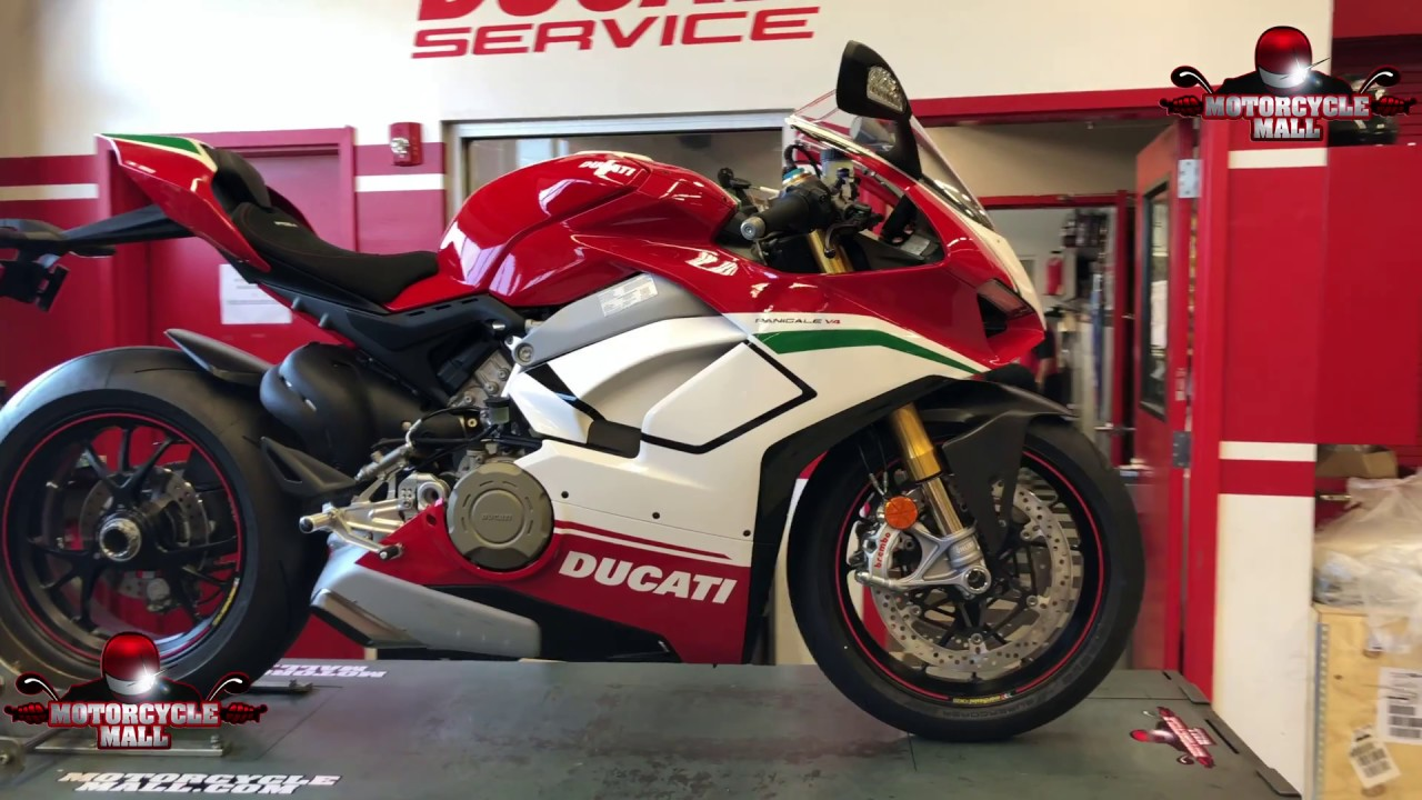 Ducati Panigale V4 Speciale Akrapovic Install 28 Youtube