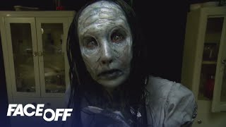 Video FACE OFF | Season 12, Episode 10: Who's Afraid of the Dark? | SYFY download MP3, 3GP, MP4, WEBM, AVI, FLV Mei 2018