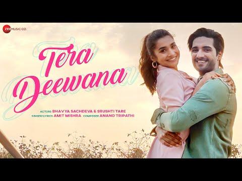 Tera Deewana - Official Music Video | Amit Mishra | Bhavya Sachdeva | Srushti Tare