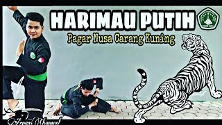 JURUS SILAT HARIMAU PUTIH !! Pagar Nusa Carang Kuning