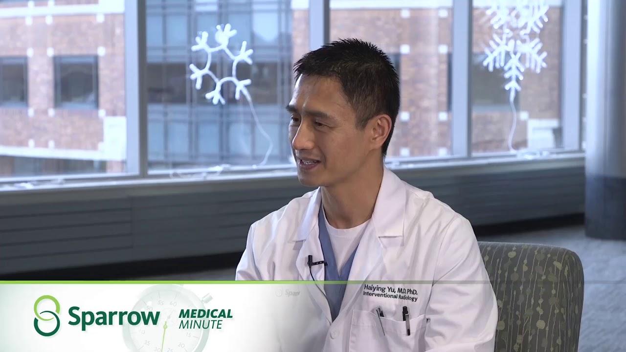 Sparrow Medical Minute — Interventional Radiology — Dr. Haiying Yu #MedicalRadiology